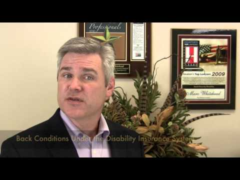 Can you Get Disability Benefits for a Back or Spine Injury? - YouTube