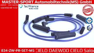 834 ZW PR SET MS   IGNITION CABLE KIT   Master Sport Automobiltechnik  MS  GmbH