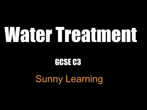 Water Treatment - GCSE AQA Chemistry
