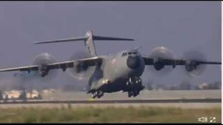 Airbus A400M first flight web-capture by signatory