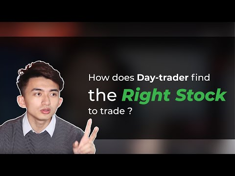 How to find the right stock to trade? (For Beginner + Advanced details)