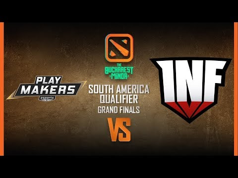 Playmakers vs Infamous - The Bucharest Minor - Game 2