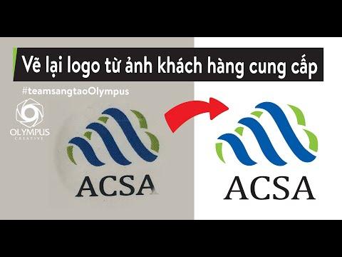 Redesign Logo by illustrator   Vẽ lại logo bằng illustrator