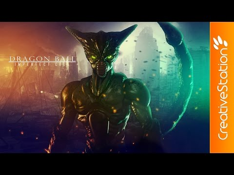 Imperfect Cell /Dragon Ball/ - 3D Speed Art (#ZBrush, #Photoshop) | CreativeStation