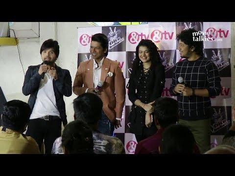 Himesh Reshammiya, Shaan, Palak Muchhal, Jay Bhanushali At The Voice India Kids Season 2 Launch