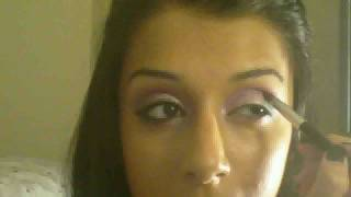 MY NEW YEARS EYESHADOW LOOK! REVLON CREME EYESHADOW SILVER, PINK, BLUE, BLACK MIX (HD) Thumbnail