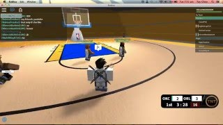 Roblox Nba Hoopz Gameplay #3