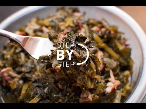 Turnip Greens Recipe, How to Make Turnips Greens, Jan Charles