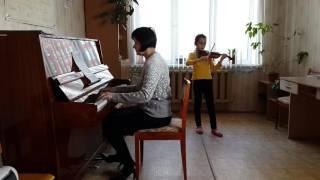 М  Старокадомский Воздушная песня   Стрекаловская Анна 3 класс 2 год обучения, концертмейстер О