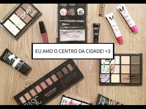 Comprando maquiagem MUITO BARATA em BH! - Karla Lopes