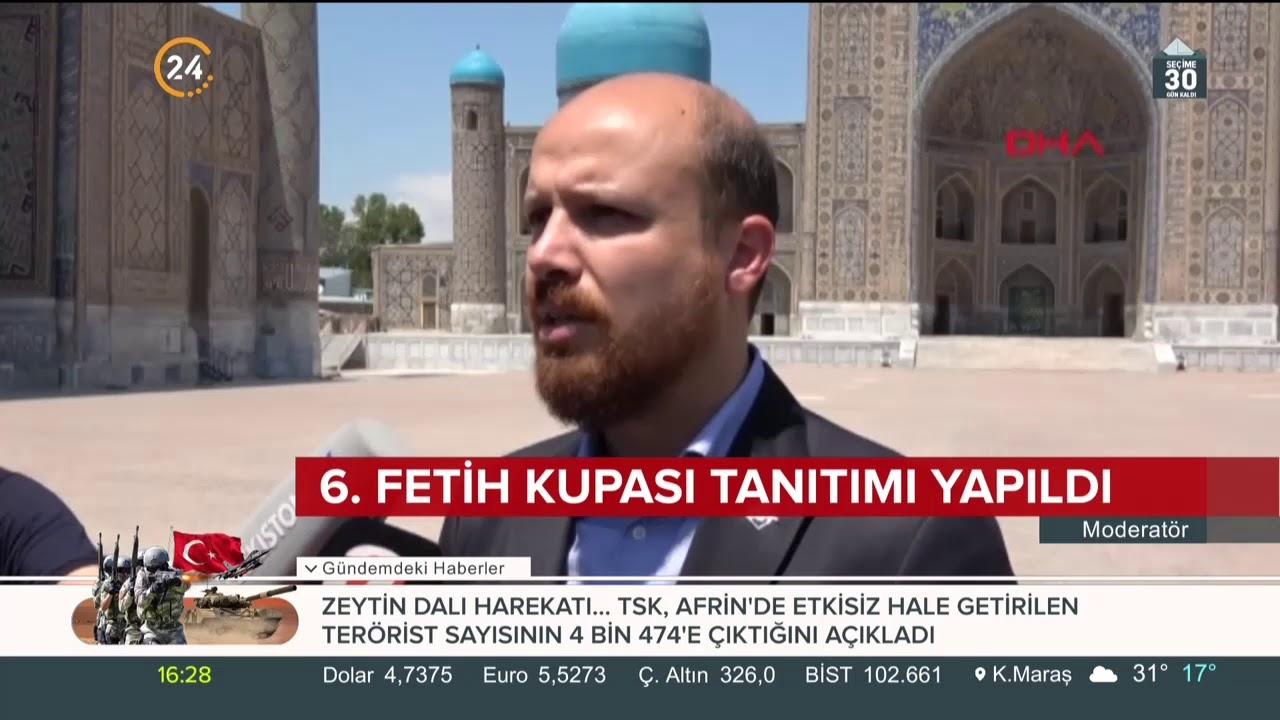 6. Fetih Kupası'nın ilk atışını Bilal Erdoğan yaptı