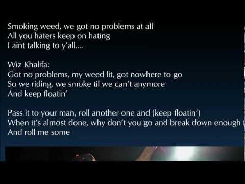 Mac Miller - Keep Floatin' Ft. Wiz Khalifa Lyrics HD