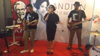 Andien - Let It Be My Way at KFC Tugu Tani