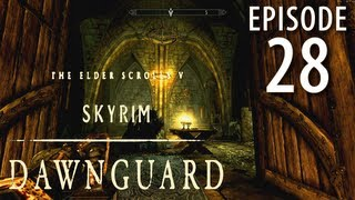 Skyrim: Dawnguard Walkthrough in 1080p, Part 28: Gargoyles in Volkihar Ruins (in 1080p HD)
