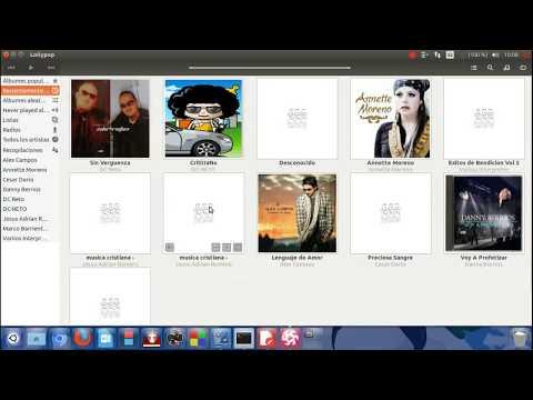 Como  Instalar Reproductor de Audio Lollypop En Linux Ubuntu