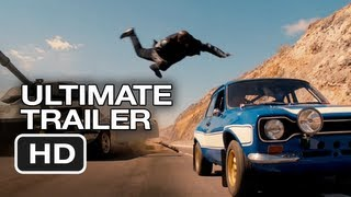 The Fast and Furious Ultimate Franchise Trailer (2013) Vin Diesel Paul Walker Car Movie HD