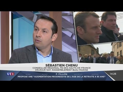 Débat Sébastien Chenu (FN) / Aurore Berger (Macron) (LCI, 13/03/17, 14h22)