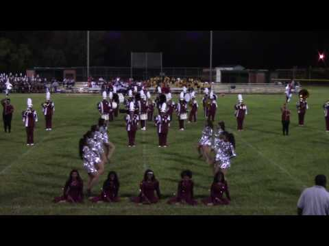 Heritage High School Marching Storm @ Greensville County High School Band Competition 2016