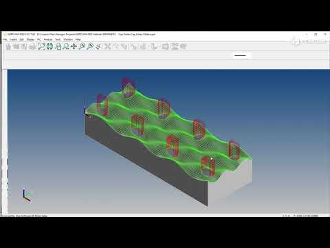 DESIGNER Geometry Associativity   SURFCAM 2022