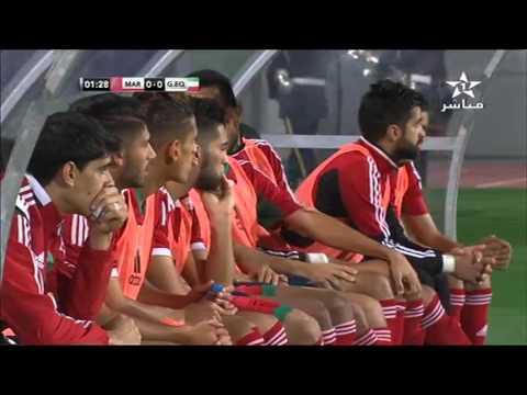 Maroc vs Guinée équatoriale  1ere Mi-Temps 12  Nov 2015