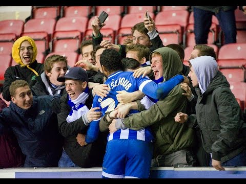 CRAZY END TO WIGAN ATHLETIC 3 YEOVIL TOWN 3 - MATCH HIGHLIGHTS - 18/03/2014