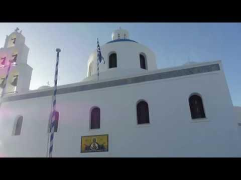 Bus Tour At Santorini, Greece