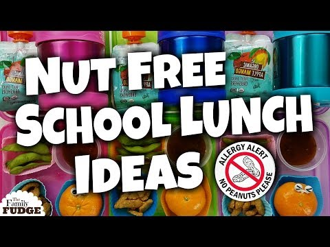 6 NUT FREE School Lunch Ideas �� Bunches Of Lunches FAVORITES