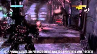 Transformers: War for Cybertron Walkthrough - Chapter 7: Kaon Prison Break 5/5 - Boss Battle: ...