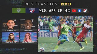 "Mls and facebook will host another epic matchup as part of the ""mls classics: remix"" series. starting at 4pm et on wednesday relive 2019 audi..."