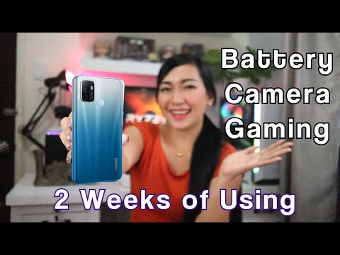 OPPO A53 : REVIEW & 2 Weeks of Using (Battery,Heating,Gaming & Performance)