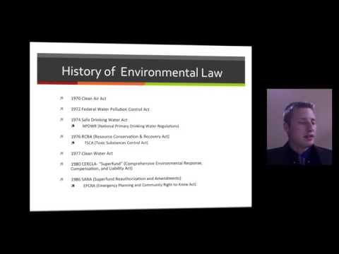 Toxic Substances and The Law by Caleb Miller
