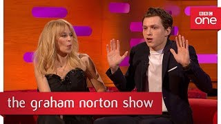Tom Holland's dance moves did not impress Madonna - The Graham Norton Show