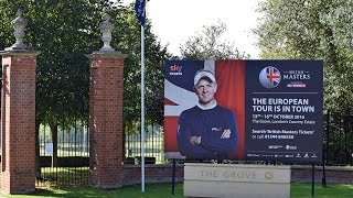 British Masters European Golf Tour at Watford Grove Hotel 2016