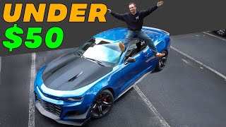 TOP 5 CHEAP MODS FOR YOUR CAMARO SS