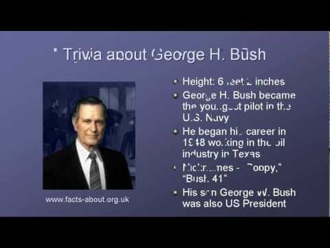 President George H Bush Biography