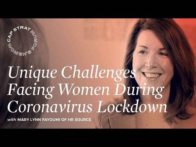 Unique Challenges Facing Women During Coronavirus Lockdown