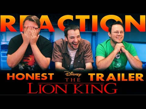 Lion King Honest Trailer REACTION!!