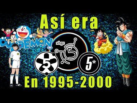 Así era canal 5 de 1995 al 2000