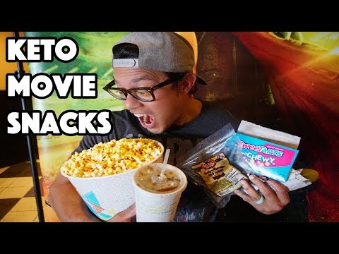THE TOP 5 KETO MOVIE SNACKS