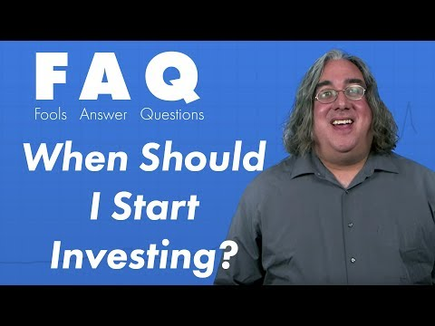 When Should I Start Investing?