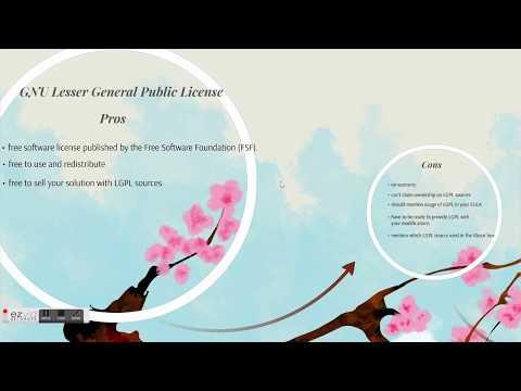 GNU LGPL vs GPL software licensing