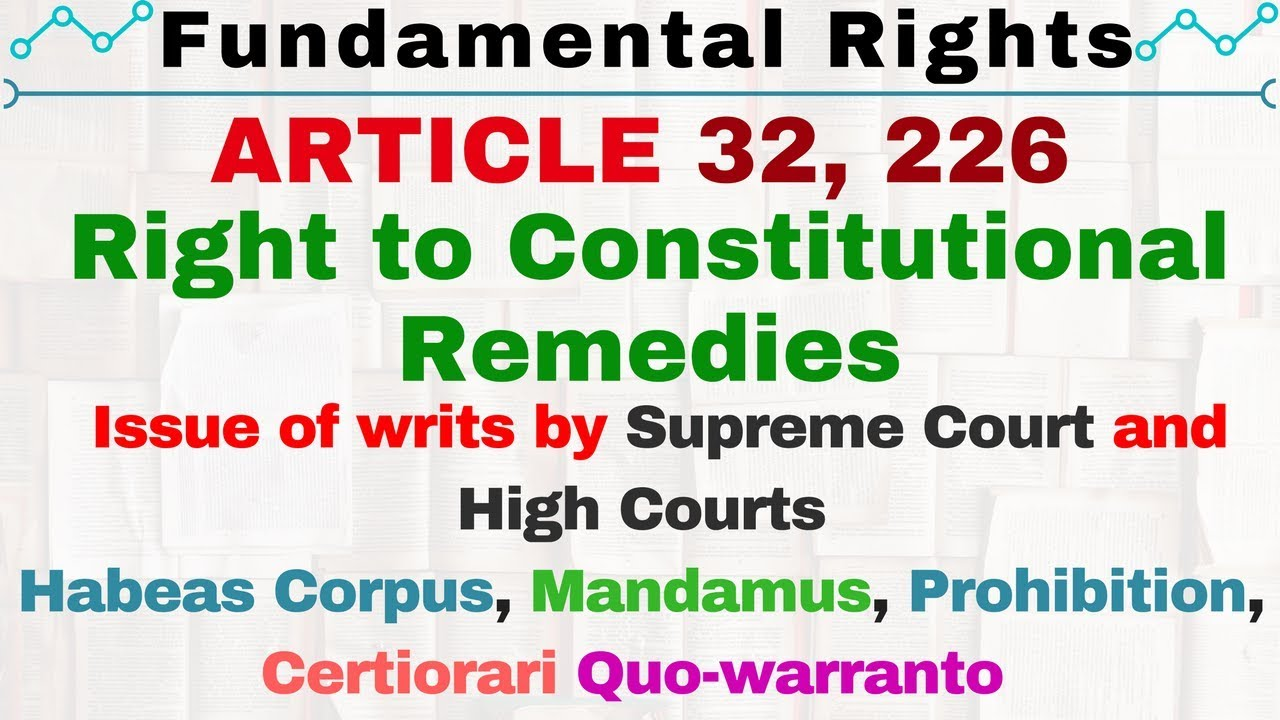 how many rights in indian constitution