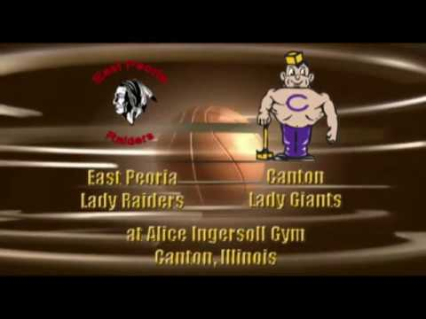 East Peoia Lady Raiders at Canton Lady Giants GBB 12 16 2016