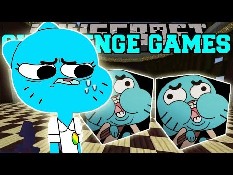 PopularMMOs Pat and Jen Minecraft_ GUMBALL CHALLENGE GAMES - Lucky Block Mod Modded Mini-Game