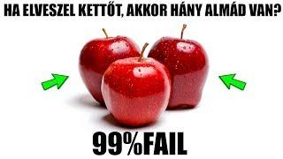 AZ IDIÓTA TESZT! 99% FAIL! [LEGJOBB]
