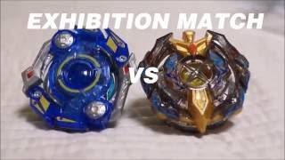 [修正版][EXHIBITION - BBB] 쌍칼 vs 성검 오벌리스크 오딘.R.X vs 엑스칼리버 암드 자이로 극염 Ver. 베이블레이드 버스트