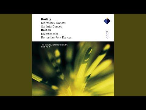 Bartók : Romanian Folk Dances Sz68 : I Bot tánc [Stick Dance]