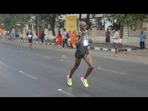 Mumbai Marathon 2017 part 10 HD Video.JACOB CHESARI,BONSA DIDA,SAMUEL MWANKI,LEVY MATEBO