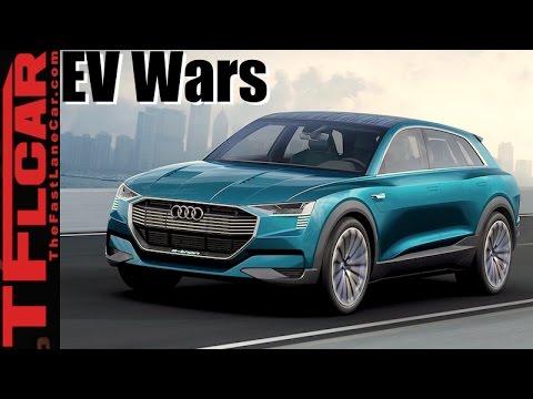 2018 Jaguar I-Pace vs  Audi e-tron vs Mercedes-Benz EQ: Upcoming EV Wars Explained