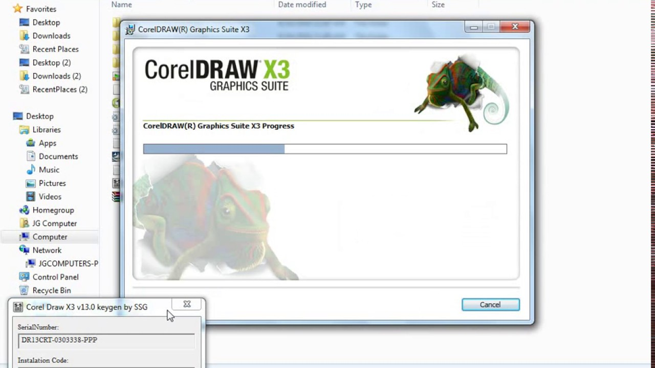 trial serial number coreldraw x3
